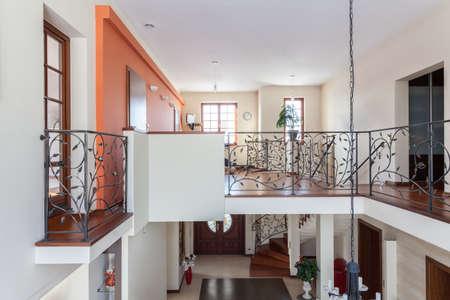 Classy house - two-storey home, elegant mezzanine Stock Photo - 18178540