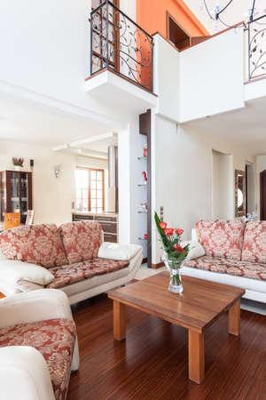 entresol: Classy house - bright interior of elegant house