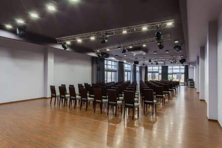 Woodland hotel - Interior of modern auditorium hall photo