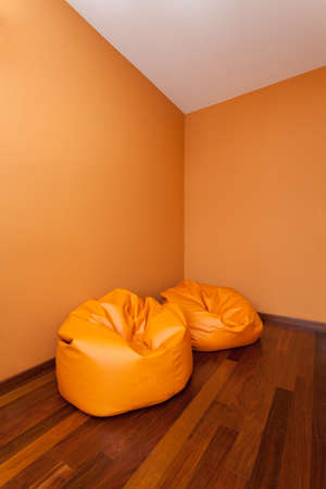 Spacious apartment - Empty room with two comfortable armchairs photo