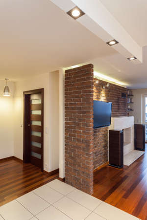 Spacious apartment - interior of modern and new house Stock Photo - 18439775