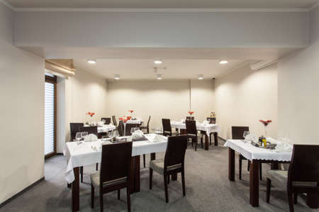 Woodland hotel - small cosy room with restaurant tables photo