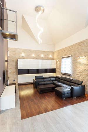 Grand design - Modern living room interior Stock Photo - 18621023