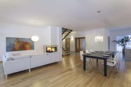 Designers interior - inside modern and minimalistic house Stock Photo - 18686967
