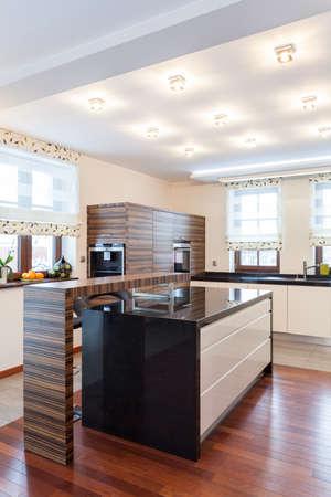 Grand design - modern kitchen interior photo