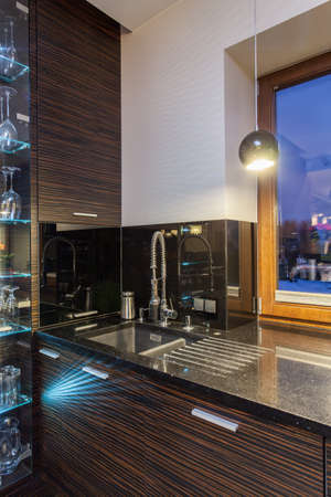 ruby house: Ruby house - Kitchen appliances, sink and faucet