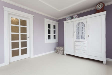 Tuscany - white furniture in bedroom photo