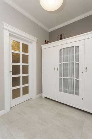 Tuscany - white huge wardrobe in bedroom photo