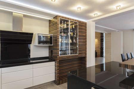 Grand design - View of the big kitchen photo