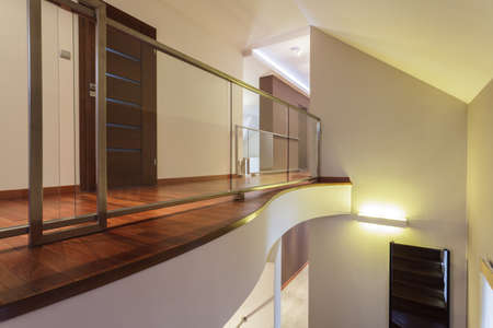 Grand design - Corridor of spacious house photo