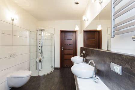 Grand design - interior of a new bathroom Stock Photo - 19058431