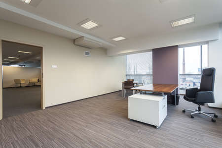 Empty manager's office in a modern building Stock Photo - 19505324