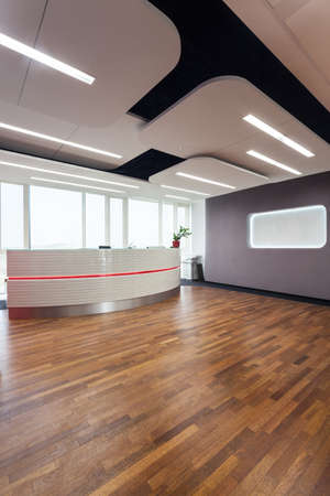 Interior of a business center and reception photo