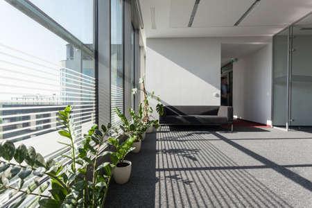 recep��o: Interior de um edif