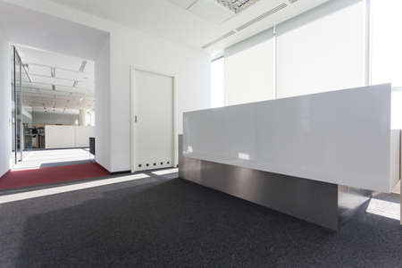 Modern bright hall in a new office centre Stock Photo - 19688908