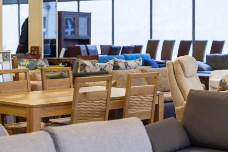 モダンな家具の様々 な店