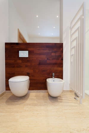 Wooden bathroom Stock Photo - 22023468