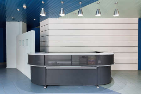 New modern reception in an office building