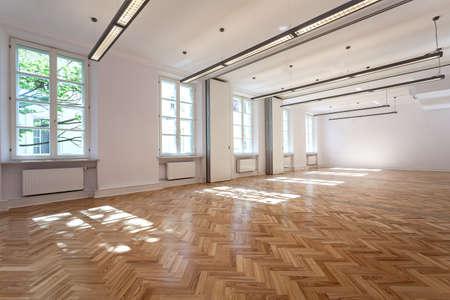 Heldere elegante interieur voor feest of banket Stockfoto