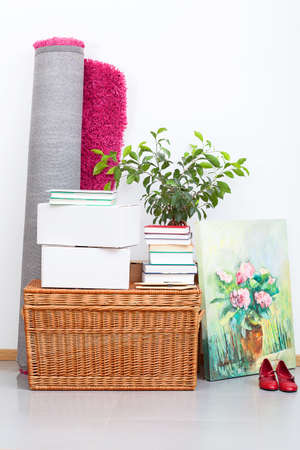 living thing: A lot of things for moving out to new house