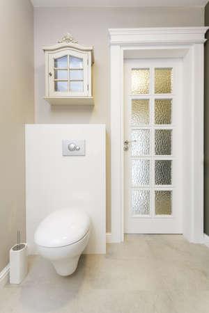 Tuscany - white and luxury toilet room photo