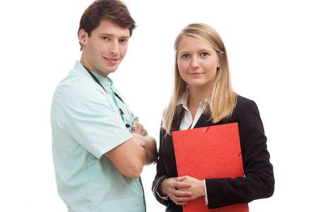 administracion de empresas: La cooperación entre la administración y el equipo médico en el hospital