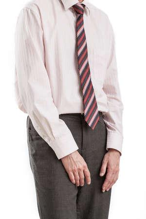 comunicacion no verbal: Un pobre hombre es impotente al ser acosado en el trabajo