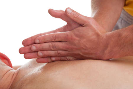 Massage therapy in sport injuries of spine photo