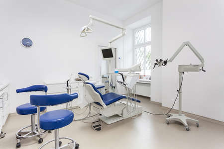 office cabinet: Special equipment in a dentist room, interior