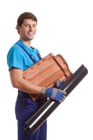 coppery: Un costruttore felice in possesso di tessere ramati e nero