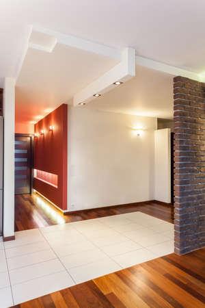 Spacious apartment - hall of modern house interior Stock Photo - 25088215