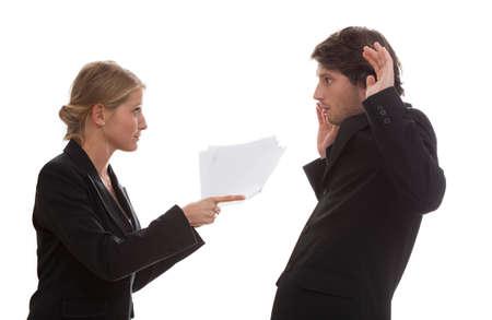 Conflict tussen een werknemer en zijn baas
