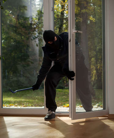 Burglary to home on the suburbs, when owners have holidays