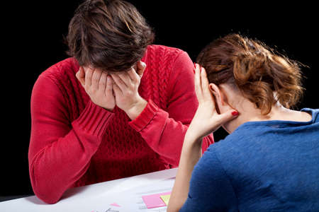 financial official: Depressed people in a hopeless financial situation