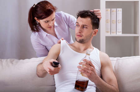 lazybones: Woman is upset about her partners laziness