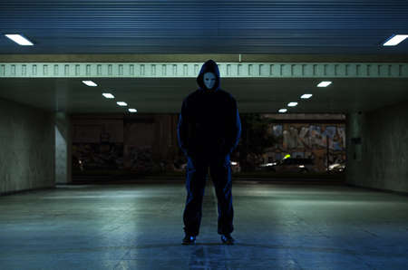 slayer: View of dangerous mugger in the underpass