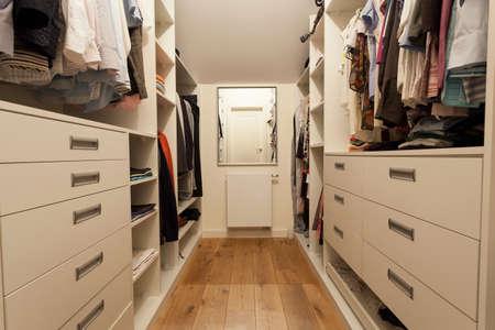Big wardrobe in the new house, horizontal