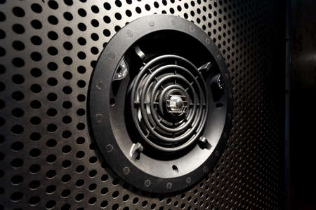 air diffuser: Close-up of horizontal view of ventilation gate