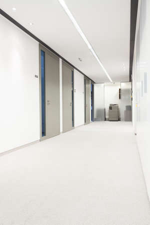 View of hall in a business centre