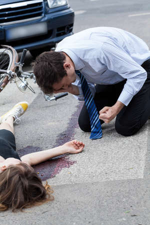 perpetrator: A frustrated driver after having killed a cyclist