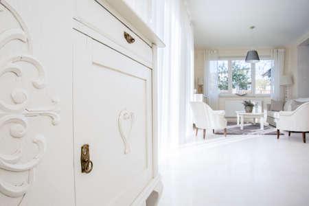 luxury living room: Elegant living room interior in luxury home