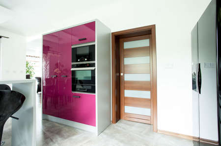 nice house: Photo of the entrace to the new luxury kitchen