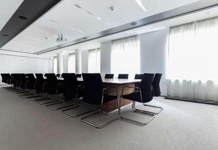 モダンなビジネス センターの会議室