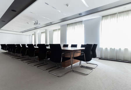Conference room in the modern business centre