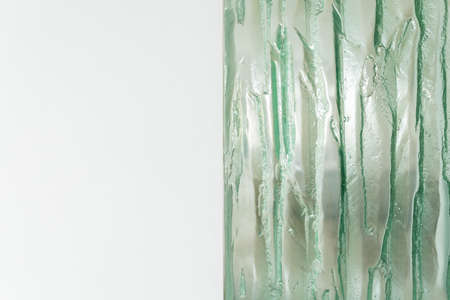 esthetics: Close-up of modern glass decoration at home