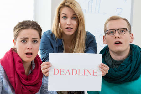 project deadline: Business team missing a deadline of important project