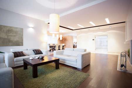 Open space con soggiorno a casa
