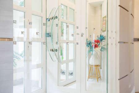 anteroom: Horizontal view of decoration in luxury house