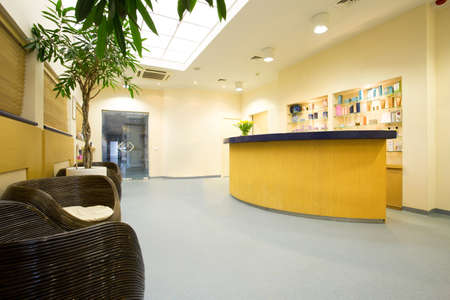 Picture of exclusive spa reception