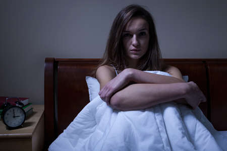 alone girl: Depression in the middle of the night